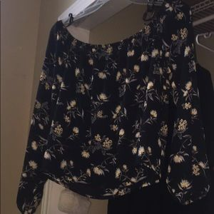 This is a off the shoulder top from forever 21